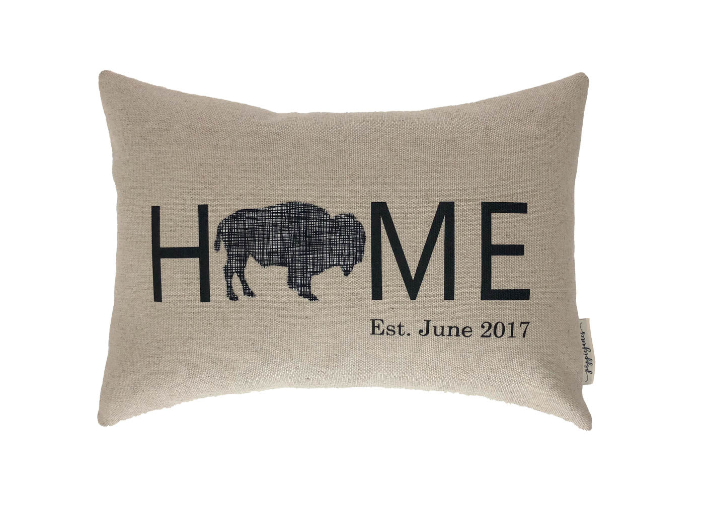 HOME Buffalo Black Red Check