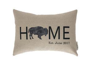 HOME Buffalo Black White Check