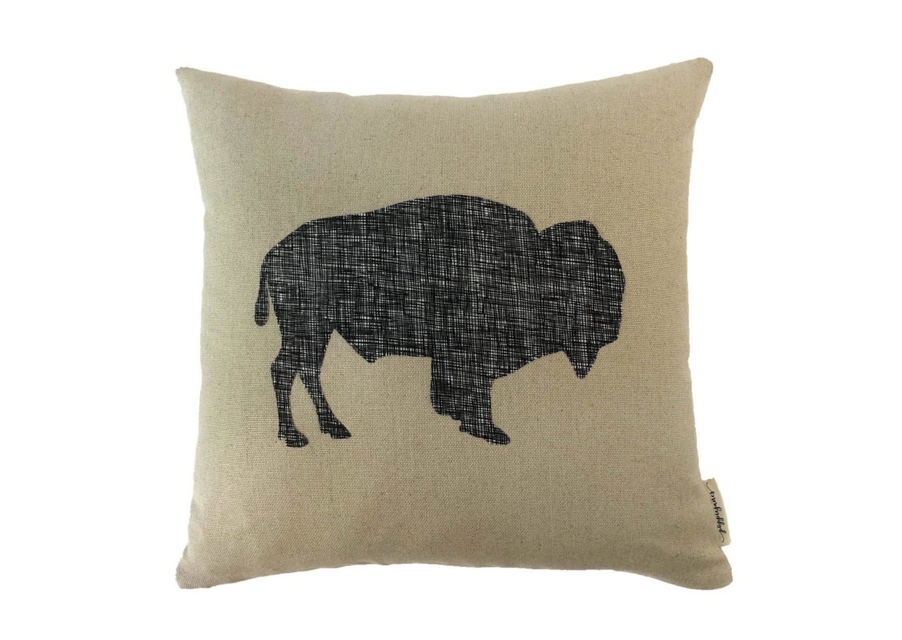 Buffalo Black Crosshatch