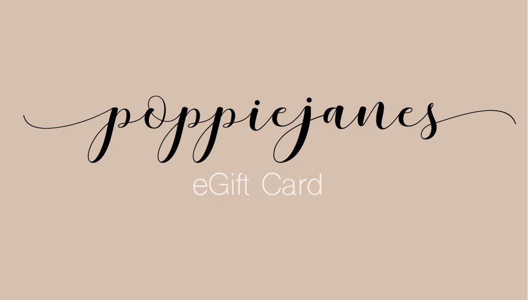 Poppiejanes eGift Card