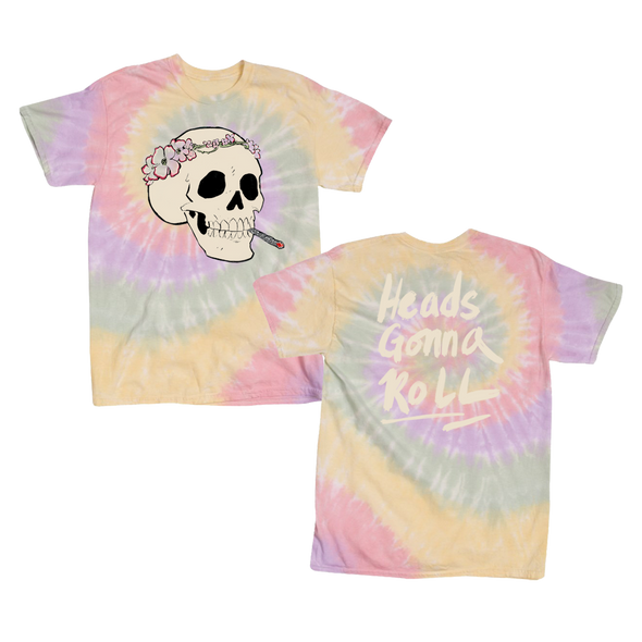 Heads Gonna Roll Tie Dye T-Shirt