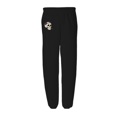 Heads Gonna Roll Sweatpants - Black