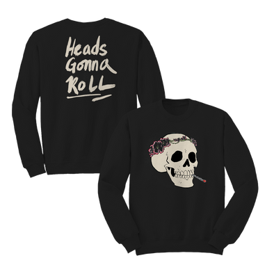 Heads Gonna Roll Crewneck - Black