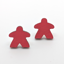Load image into Gallery viewer, Wooden Meeple Earrings