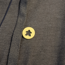 Load image into Gallery viewer, Wooden Meeple Pin