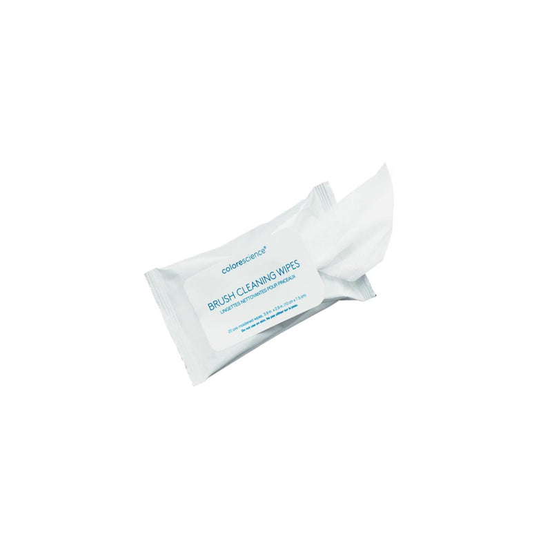 Brush Cleaning Wipes, 20 pack