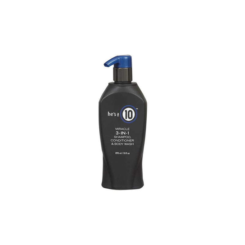 He's a 10 Miracle 3-IN-1 Shampoo, Conditioner & Body Wash