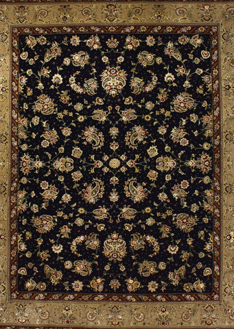 Black Sino Persian Rug