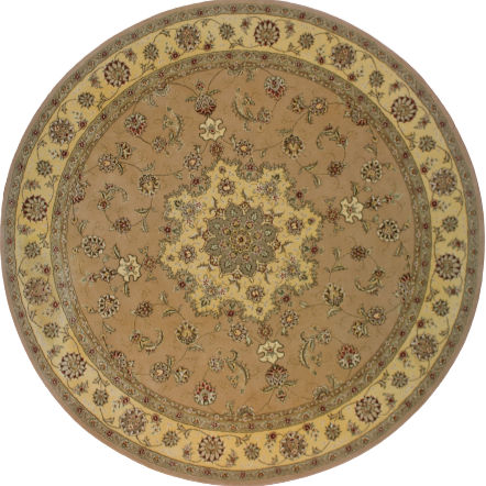 Tufted Round Rug