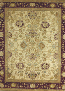 Cream Traditional Pak Persian Rug