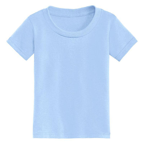 Baby Blue Shirt Short Sleeve Boy