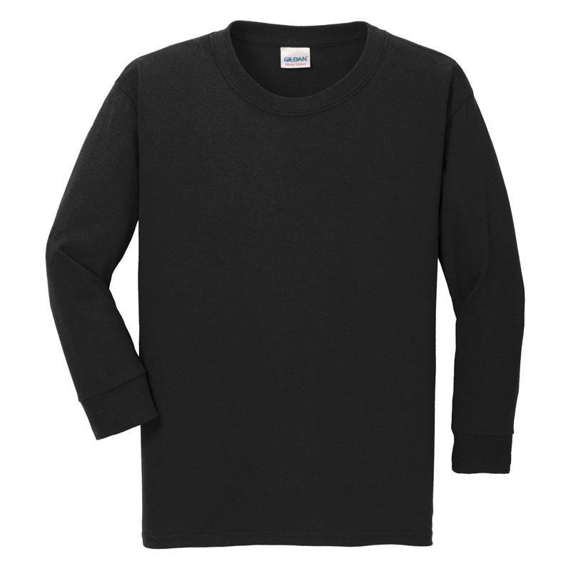Black Long Sleeve Shirt Boy
