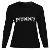 Black Mummy Adult Shirt