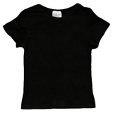 Black Shirt Cap Short Sleeve