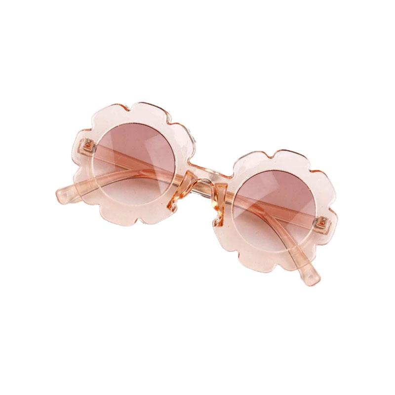 Blush Flower Pink Sunglasses