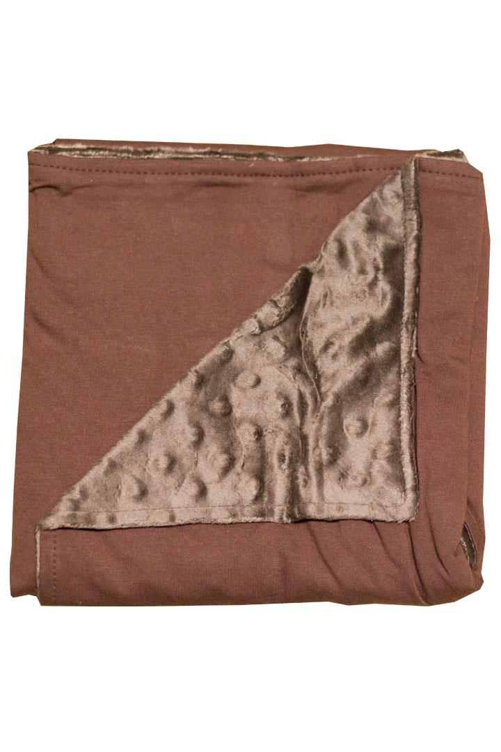 Brown Minky Blanket
