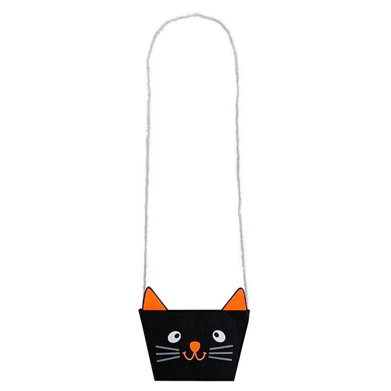 Cat Face Halloween Purse