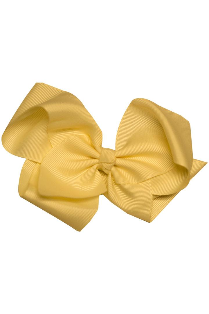 Golden Yellow Hair Bow