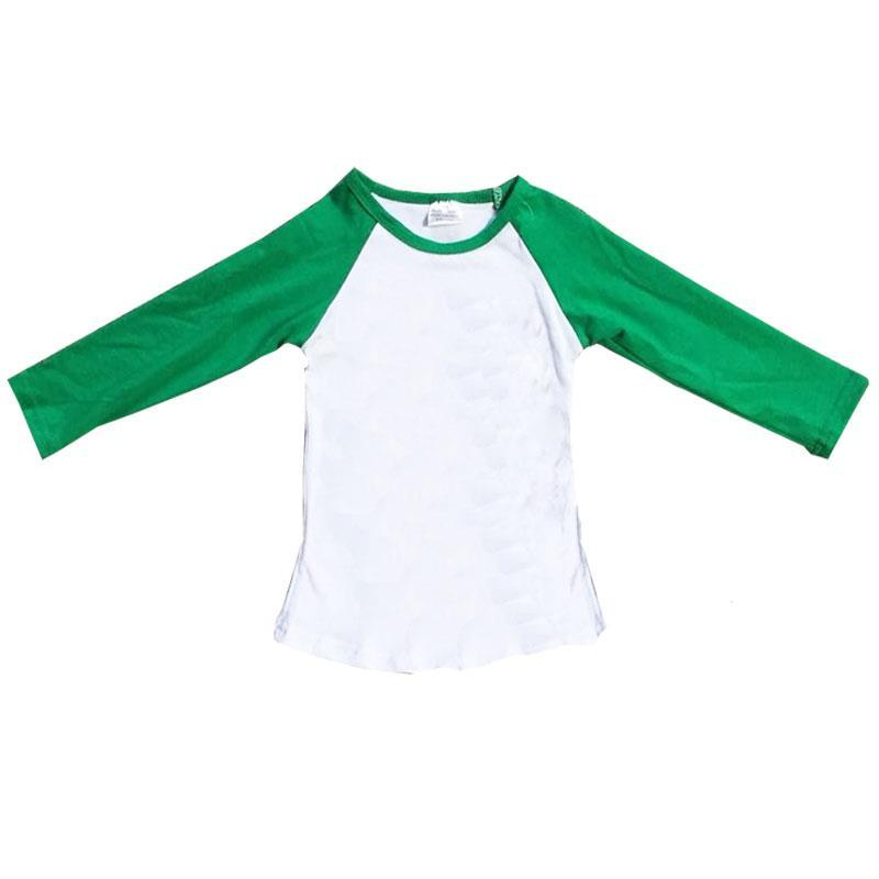 Green Raglan Shirt Long Sleeve