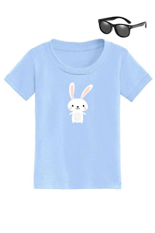 Happy Bunny Shirt Blue Boy