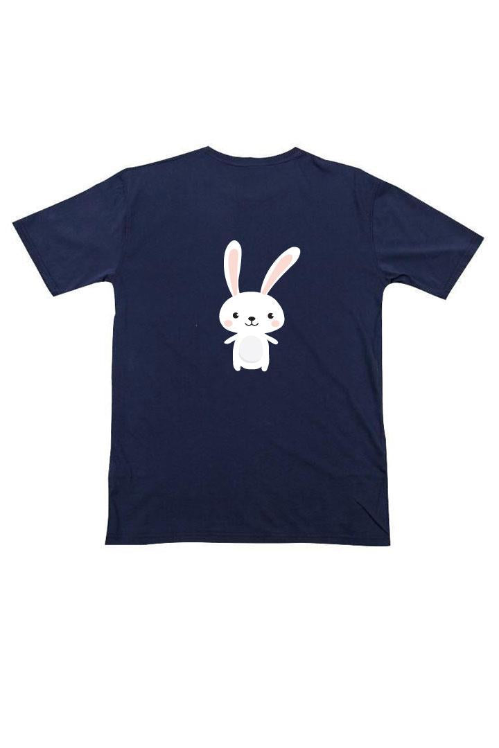 Happy Bunny Shirt Navy Blue Boy