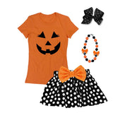 Jack O Lantern Shirt Pumpkin Orange Mommy Me