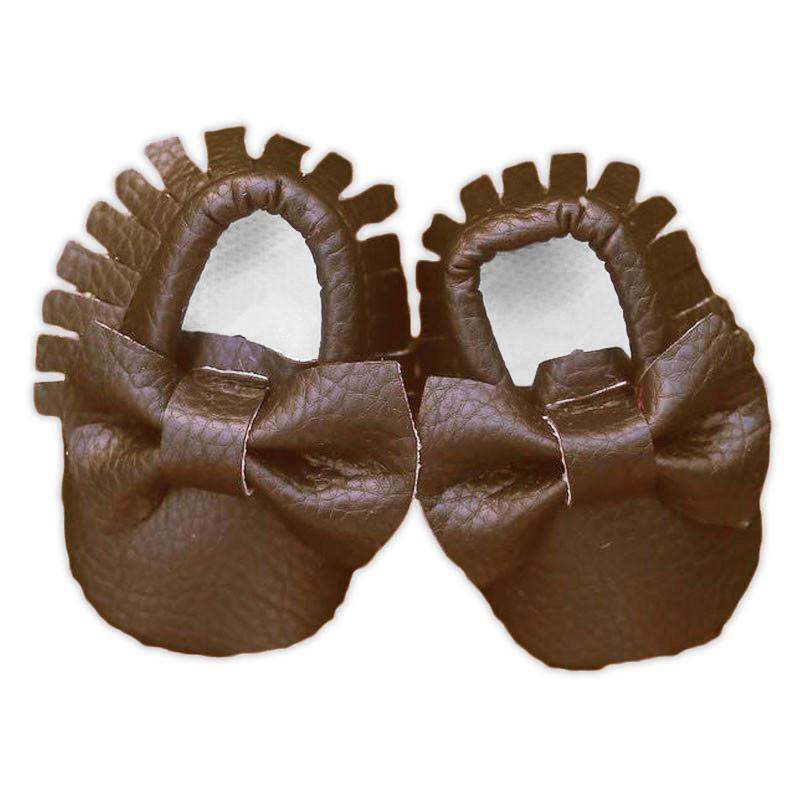 Leather Moccasin Shoes