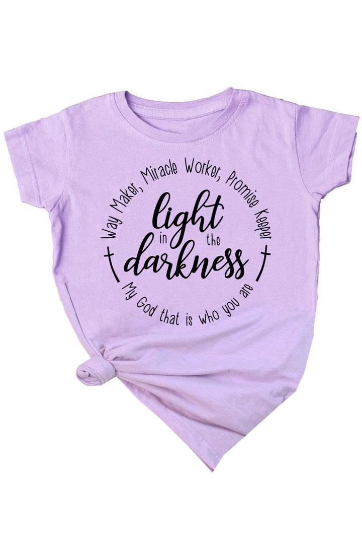 Light In The Darkness Shirt Lavender Purple Mommy And Me