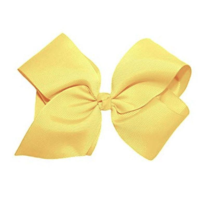 Light Yellow Knot Hair Bow