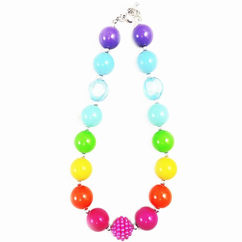 Magical Rainbow Necklace Chunky Gumball