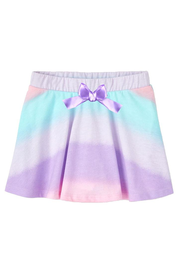 Pastel Ombre Skirt Purple Bow