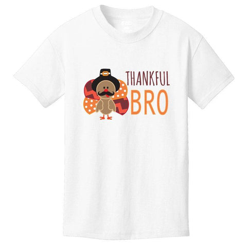 Pilgrim Thankful Bro Shirt Turkey Boy