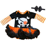 Pirate Skeleton Onesie Tutu Dress