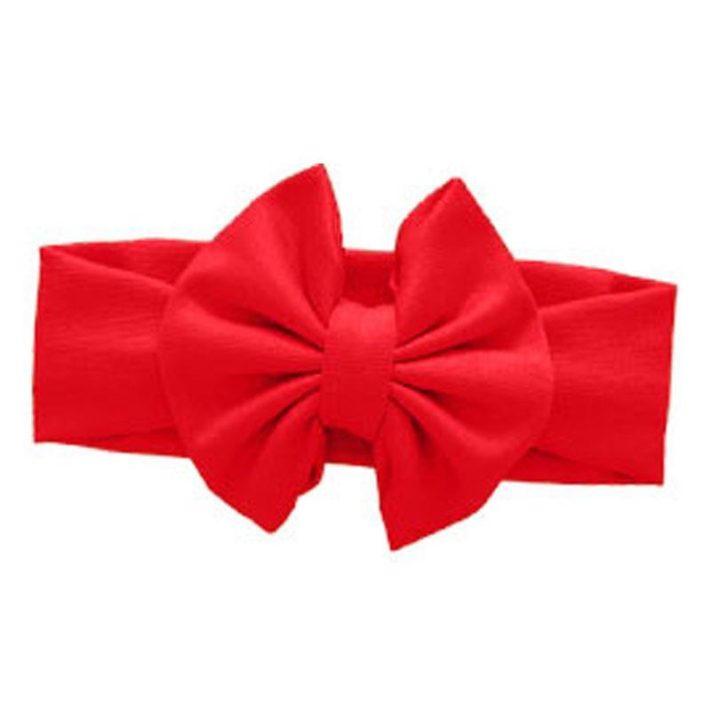 Red Messy Bow Headband