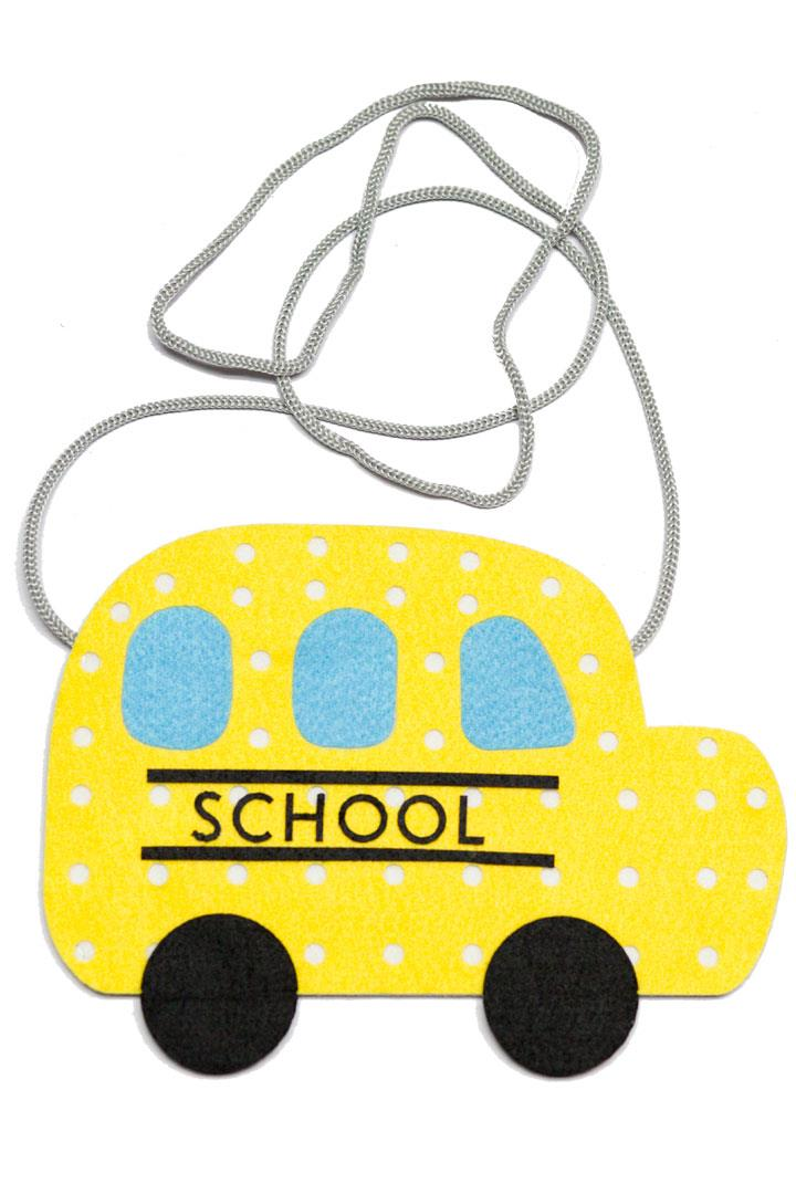 School Bus Purse