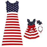 Stars And Stripes Mommy Dress