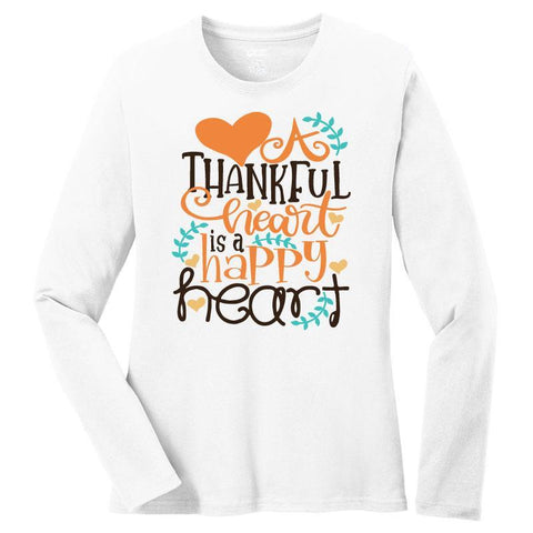 Thankful Happy Heart Shirt Mommy Me