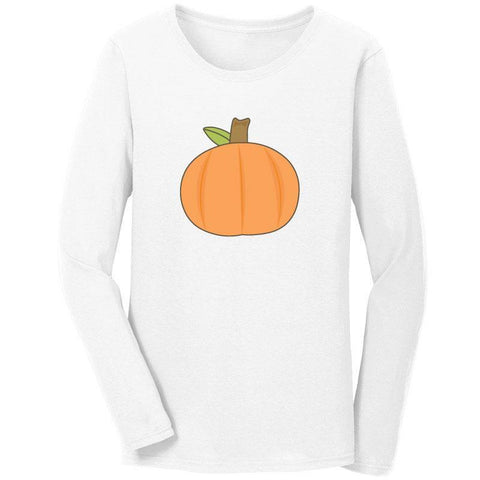 Thanksgiving Pumpkin Shirt Long Sleeve Adult
