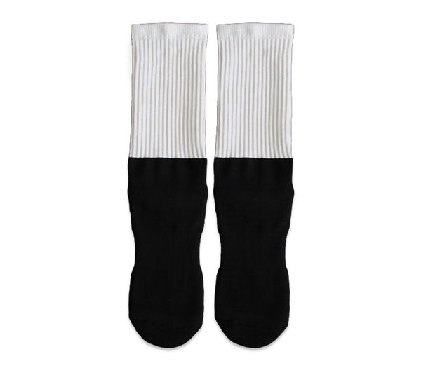 Upload YOUR Image - Athletic Blackfoot Socks!