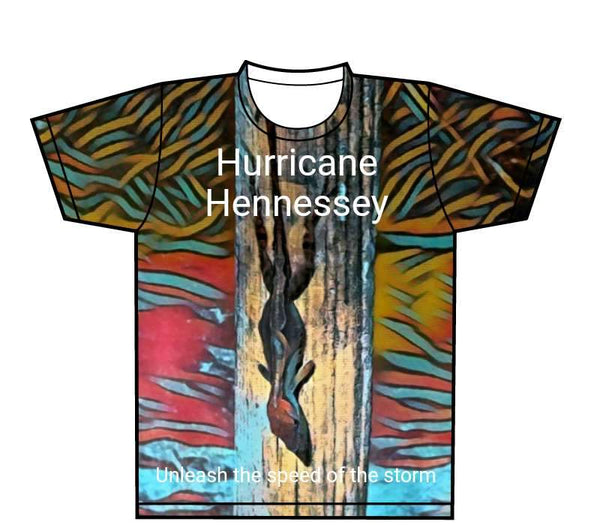 Design Your Own - All Over Sublimated T-Shirt (one side)