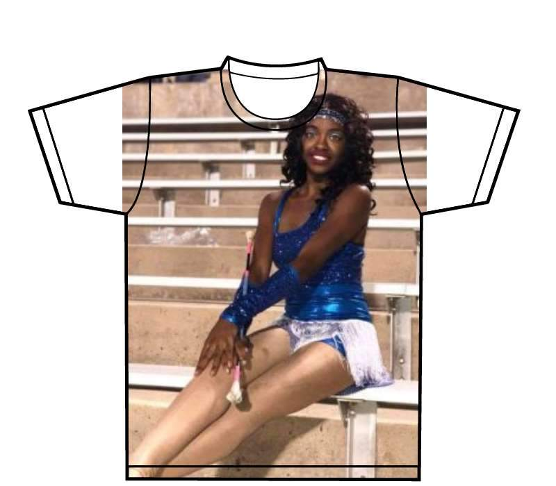 Custom - All Over Sublimated T-Shirt (one side)