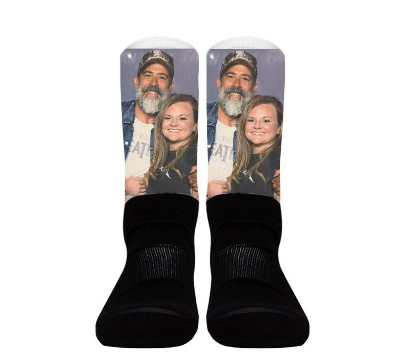 (Black Foot) Custom - Athletic Socks