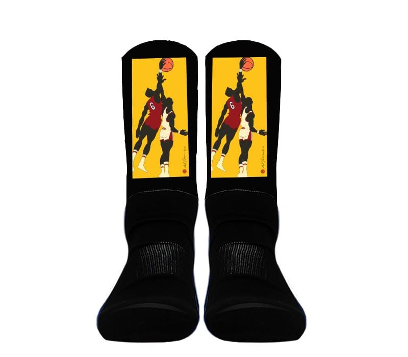 Athletic Crew Socks - Custom