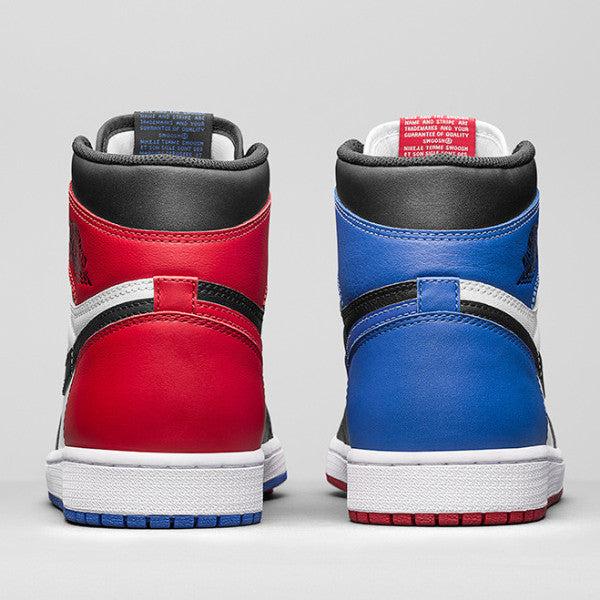Top 3 Air Jordan 1 Silky Socks Black Red Royal Chicago Jordan Full Print Socks