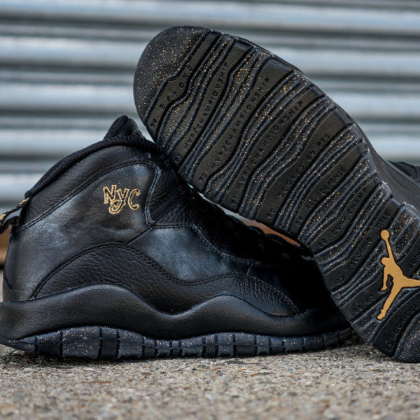 Silky Socks to Match Air Jordan NYC 10's New York Bronx Statue of Liberty Gold