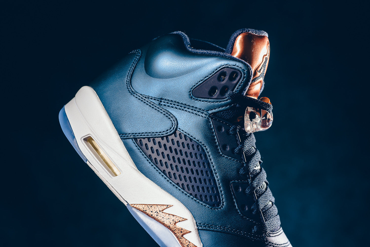 air jordan bronze 5 with matching bronze 5 silky socks