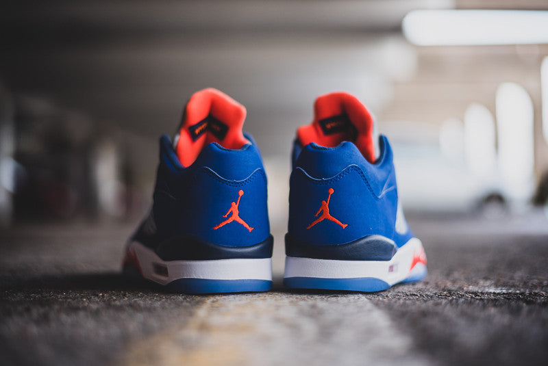 b43ef2b451a Jordan 5 Low Knicks CAVS Silky Socks to Match Air Jordan 5 New York Socks  Sublimation
