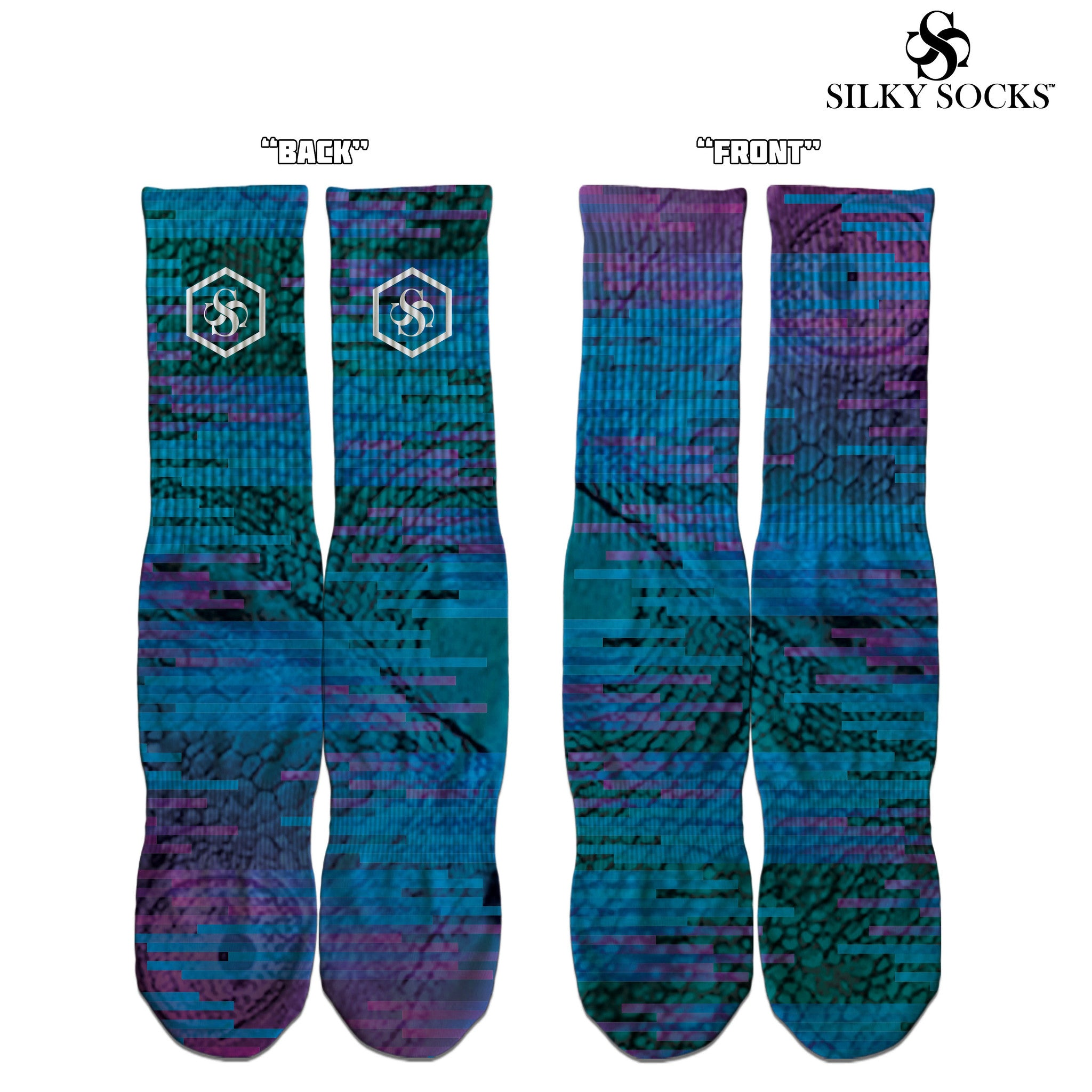 allstar2017 silky socks custom sock