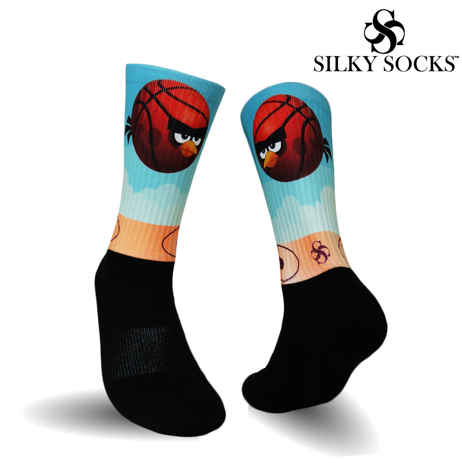 Angry Hoopers Blackfoot Socks
