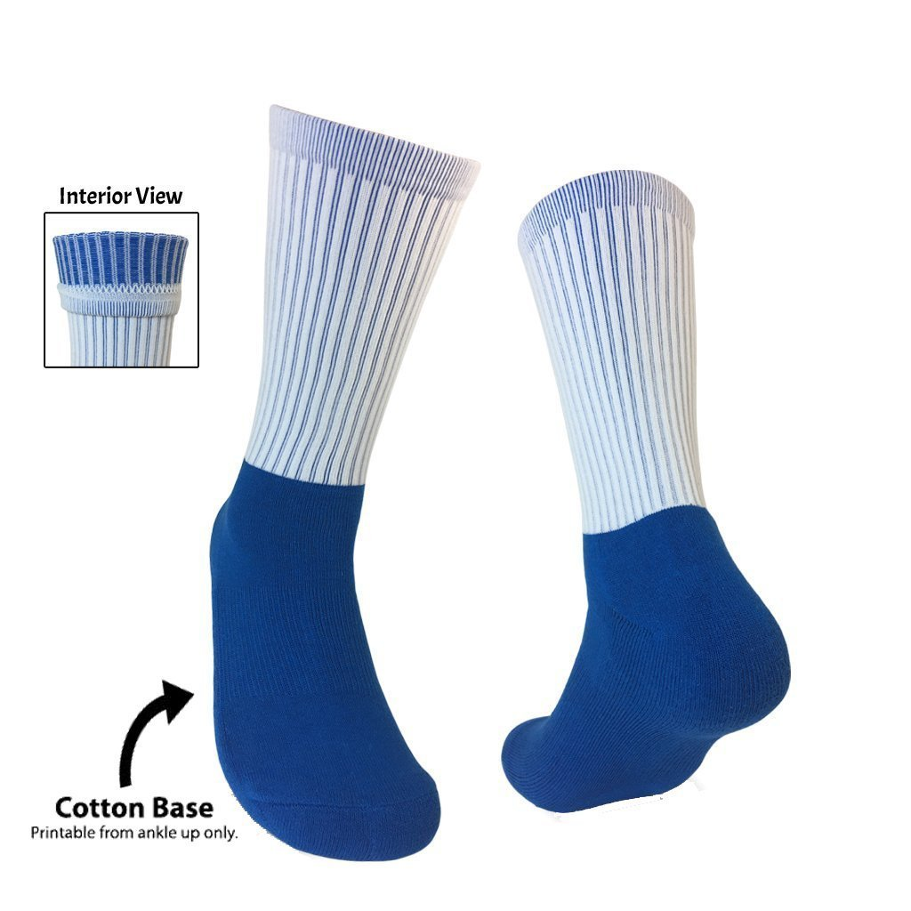 Blank Sublimation Socks | Silky Socks